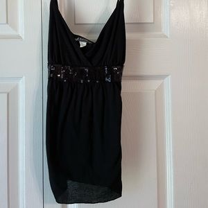 Casual Sequined Tank
